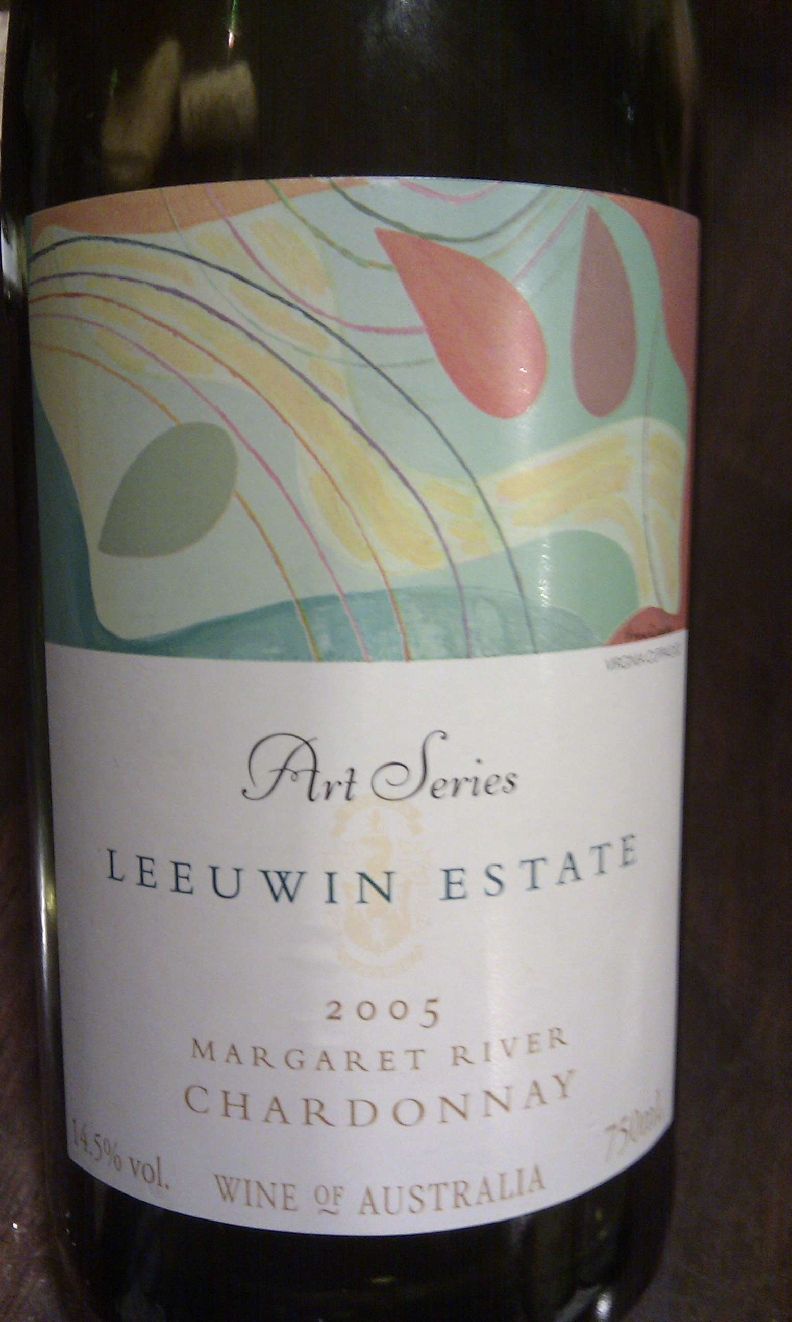 2005 Leeuwin Estate 'Art Series' Chardonnay