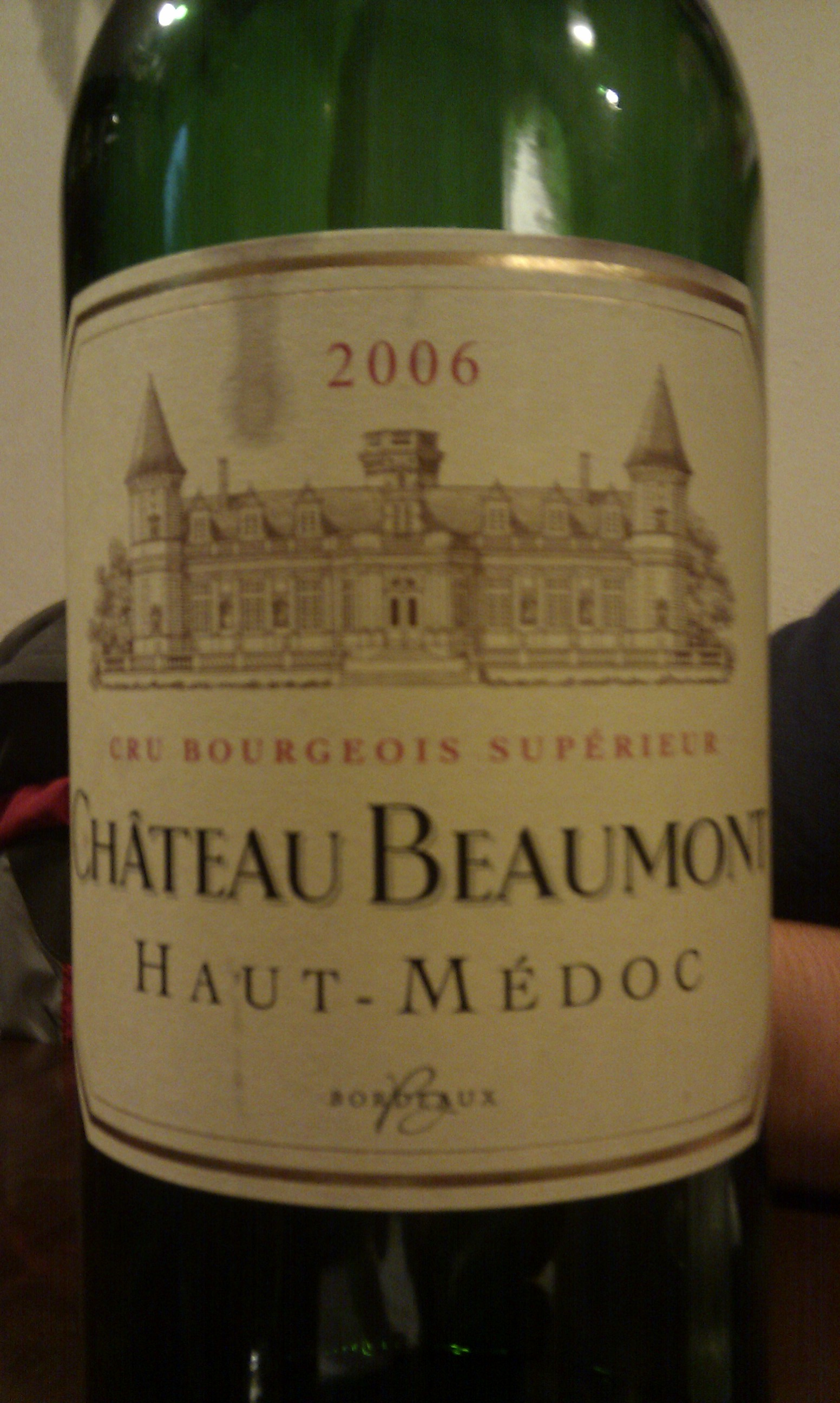 2006 Chateau Beaumont
