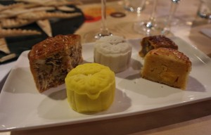 Moon cake pairing with Riesling