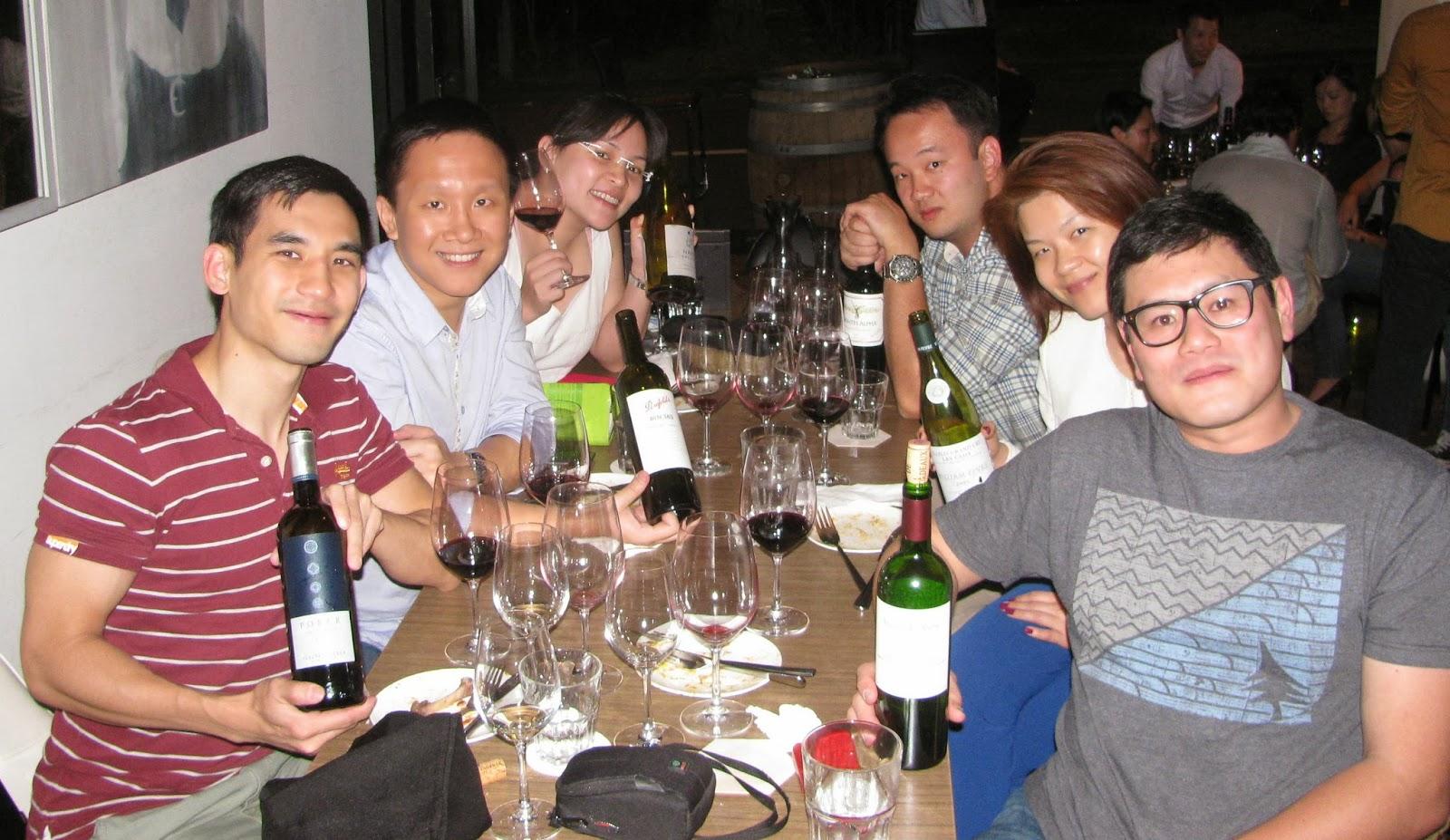 SgWine CNY 2014 - crew